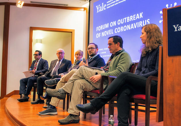 Experts discuss coronavirus at Feb 6, 2020 forum