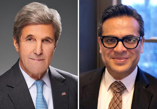 John Kerry and Sadd Omer will discuss global health February 21st 2020