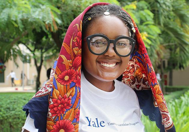 Phyllis Mugadza '21 B.S. (Photo credit: Nadira Abdilahi)