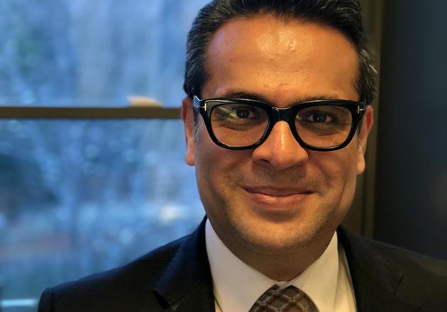 Saad Omer, director of YIGH