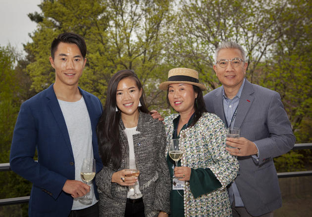 Shirley Yeung '93 (second from right) with her family at a Yale SOM reunion. Her daughter, Martha Xiang '19, is currently a second-year MBA student at Yale SOM.