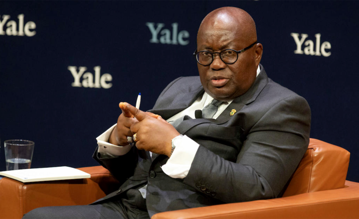 President of Ghana visits Yale