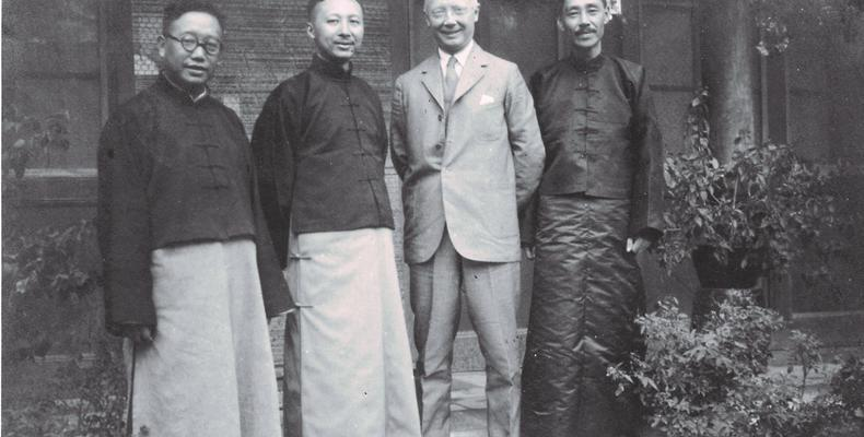 The co-founders of Yale-in-China's Xiangya Hospital and Medical School